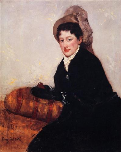 Portrait of Madame X Dressed for the Matinee - Mary Cassatt