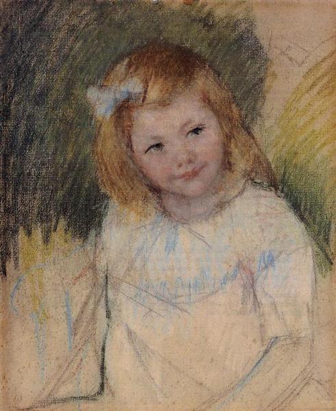 Sara Looking towards the Right, c.1901 - Mary Cassatt