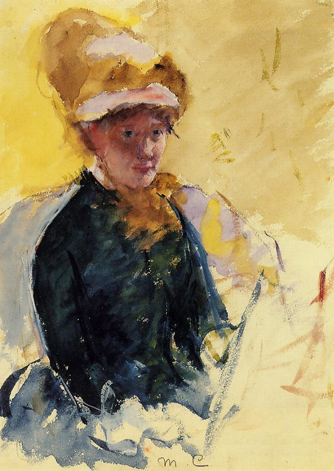 Image result for mary cassatt self portrait