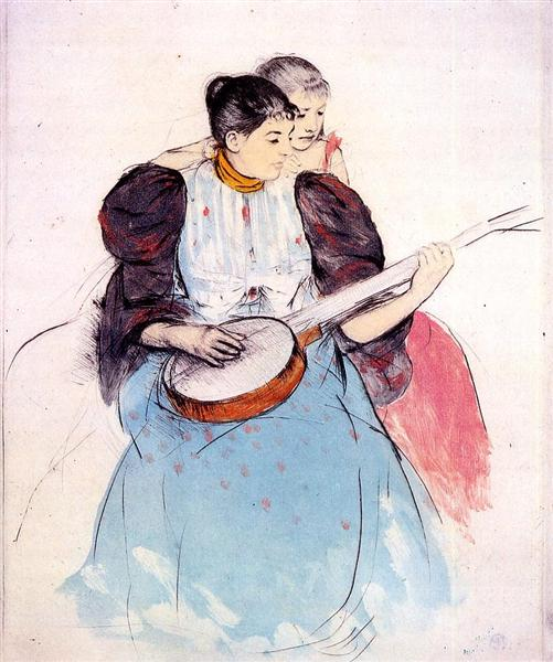 The Banjo Lesson, 1893 - Mary Cassatt