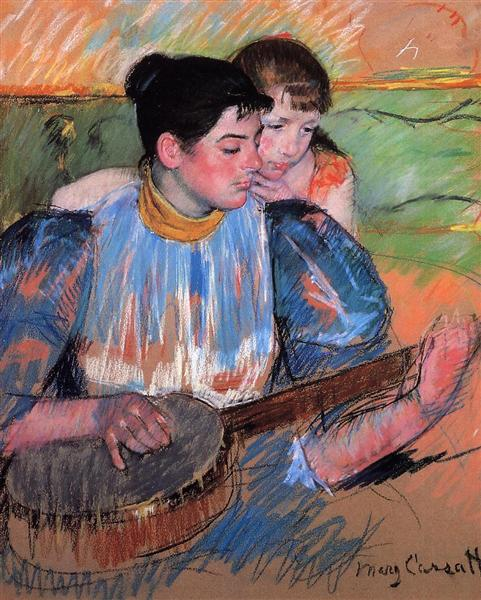 The Banjo Lesson, 1893 - 1894 - Mary Cassatt