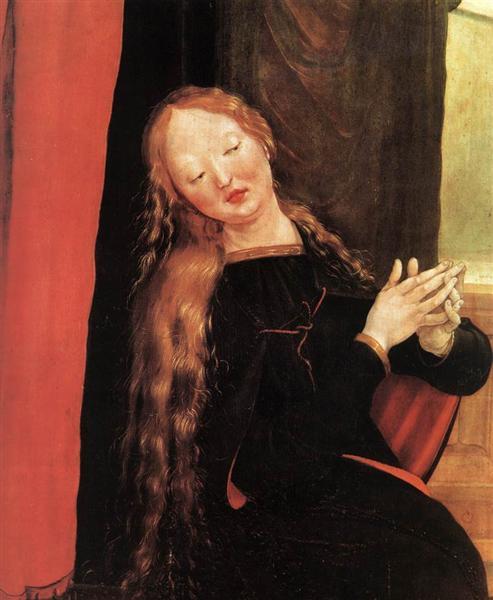 Annunciation (detail), 1510 - 1515 - Matthias Grünewald