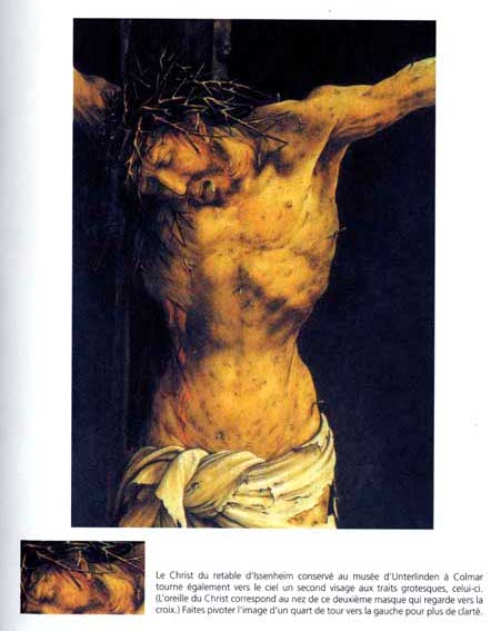 Christ on the Cross (detail from the central Crucifixion panel of the Isenheim Altarpiece), c.1512 - c.1515 - Matthias Grünewald