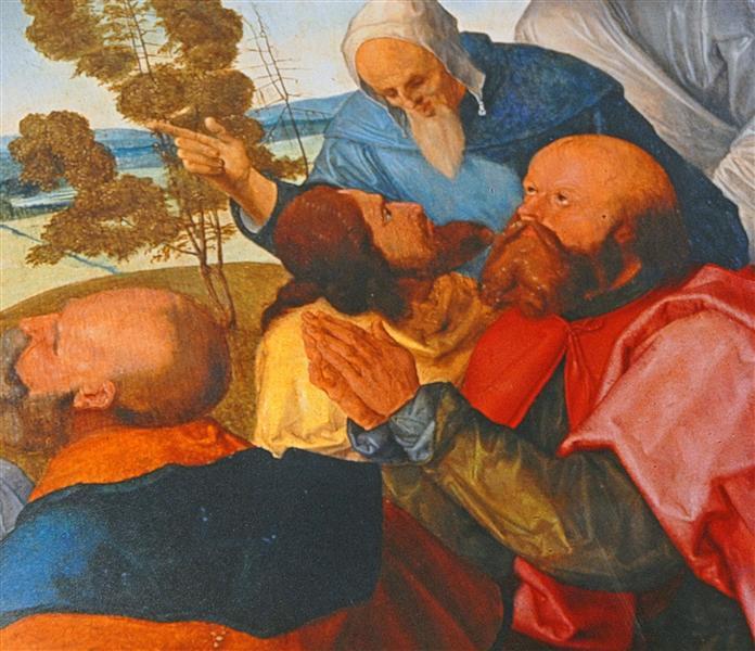Heller Altarpiece (detail from central part), 1508 - 1509 - Matthias Grünewald