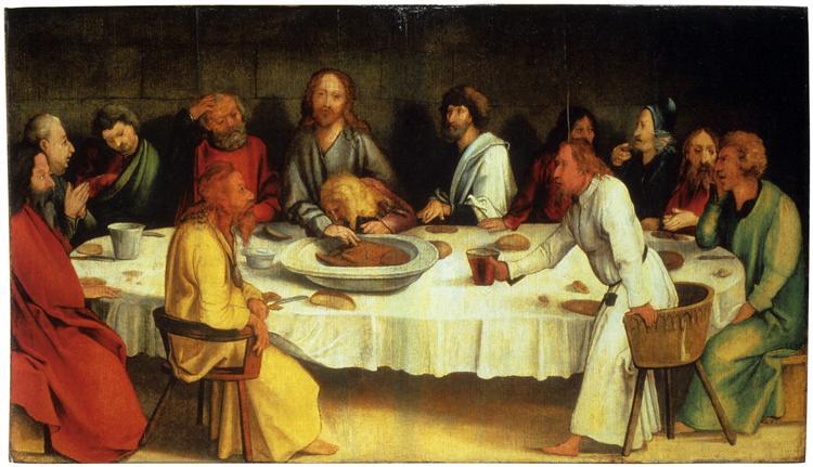 Last Supper (Coburg Panel) - Matthias Grünewald