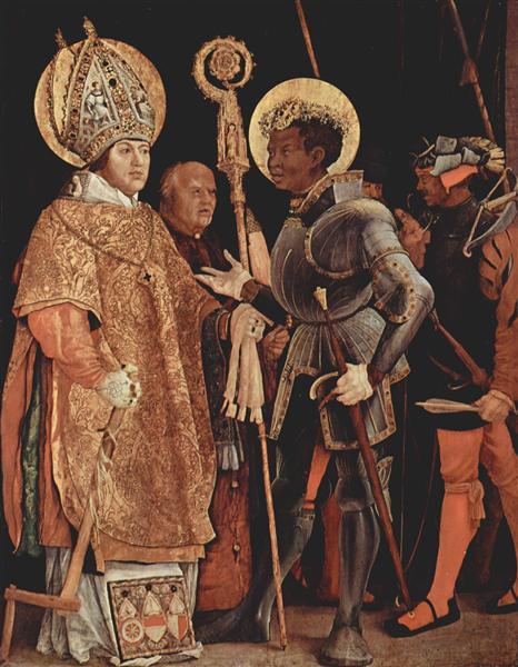 Saints Erasmus and Mauritius, 1517 - 1523 - Matthias Grünewald