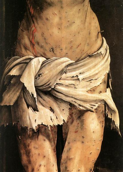 The Crucifixion 3 (detail), c.1512 - c.1516 - Matthias Grünewald