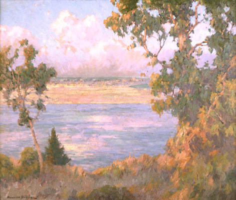 Landscape: North Island seen from Point Loma, 1910