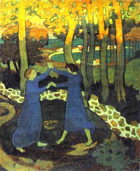 Jacob's Battle with the Angel, c.1893 - Maurice Denis