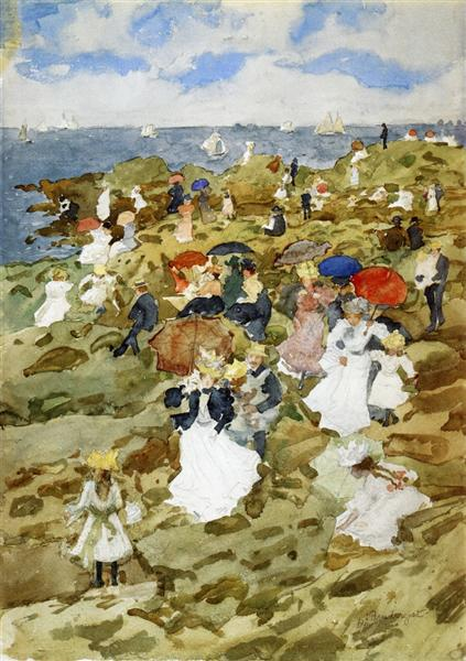 Pañuelo Point - Maurice Prendergast