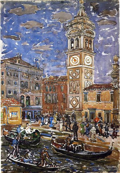 SanMaria Formosa, Venice - Maurice Prendergast