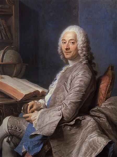 Portrait of Duval de l'Epinoy, 1745 - Quentin de La Tour