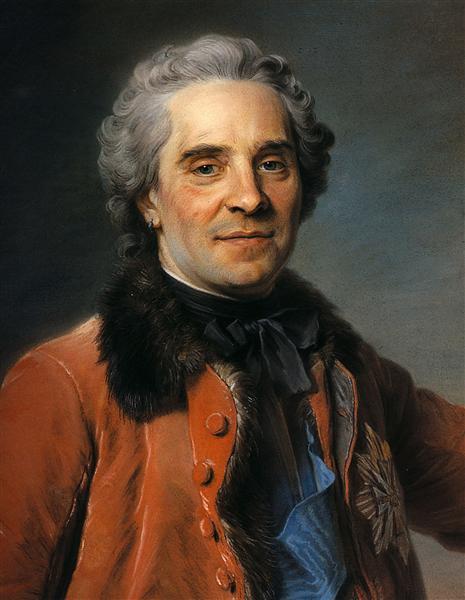 Portrait of Maurice of Saxony, 1748 - Quentin de La Tour