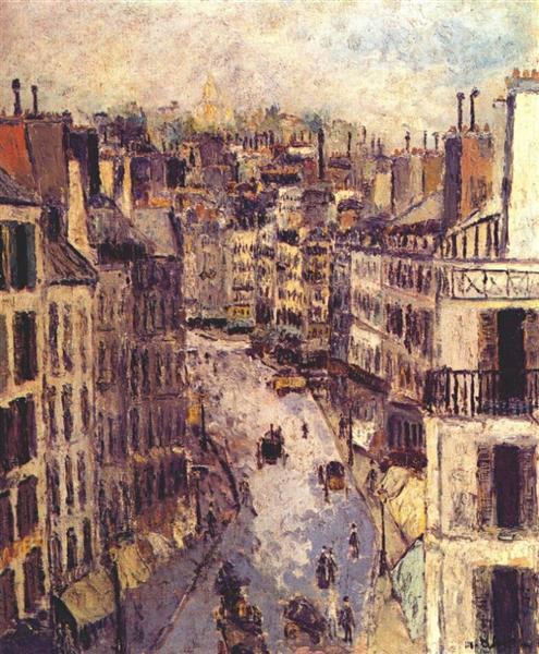 Rue Lepic - Морис Утрилло
