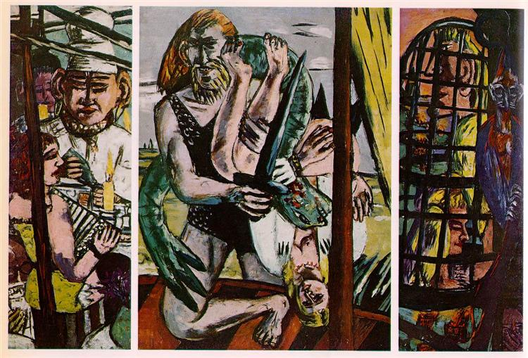 Perseus, 1940 - 1941 - Max Beckmann