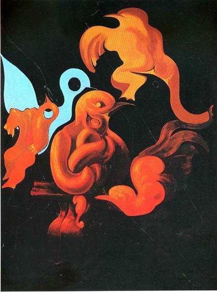 After Us Motherhood, 1927 - Max Ernst