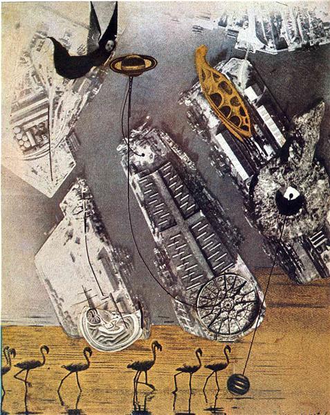 Cormorants, 1920 - Max Ernst