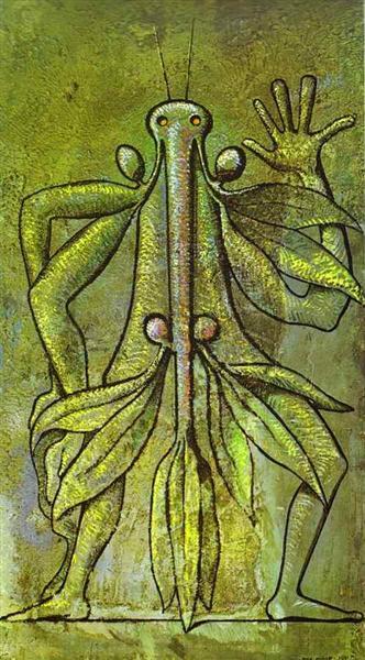 Human Form, 1931 - Max Ernst