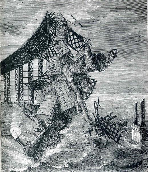 "Illustration to ""A Week of Kindness"", 1934 - Max Ernst"