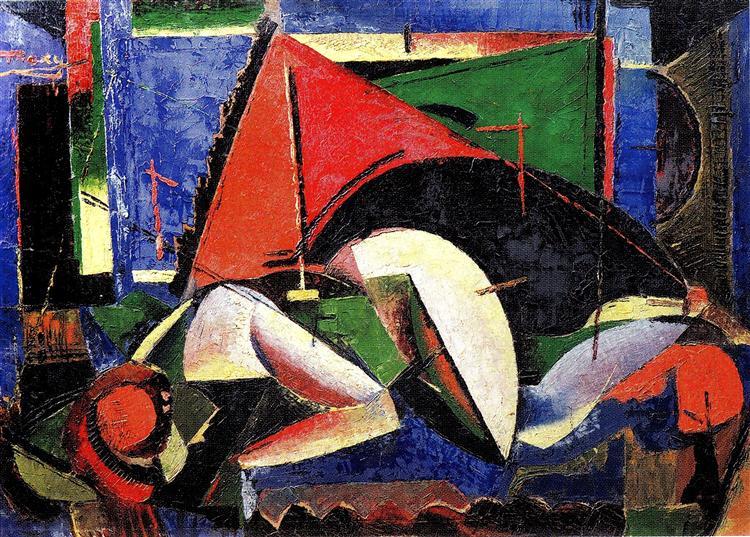 Nude, 1924 - M. H. Maxy