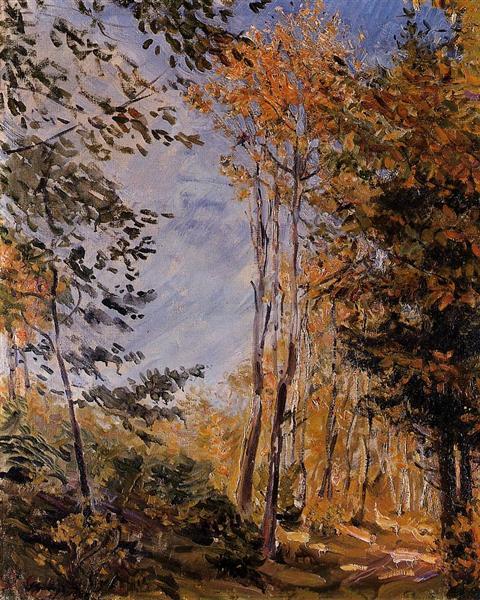 Autumn Forest, 1906 - Max Slevogt