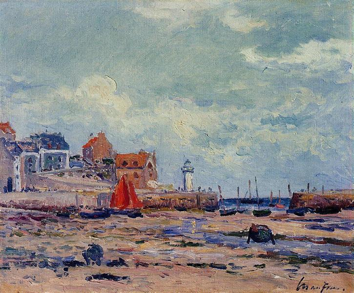 At Low Tide - Maxime Maufra