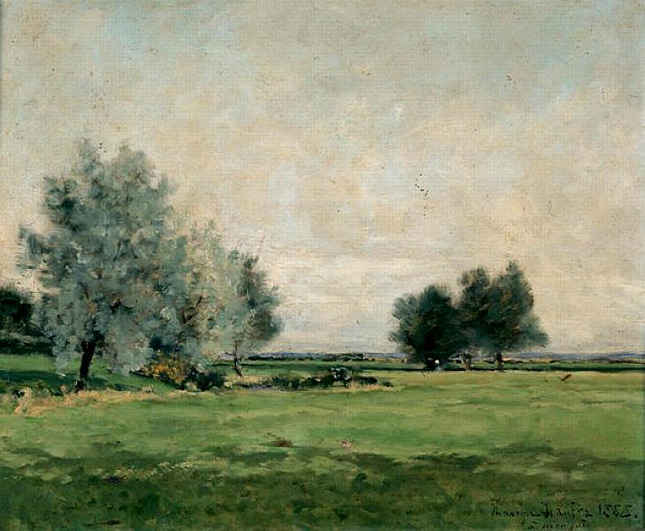 Meadow, 1888 - Maxime Maufra