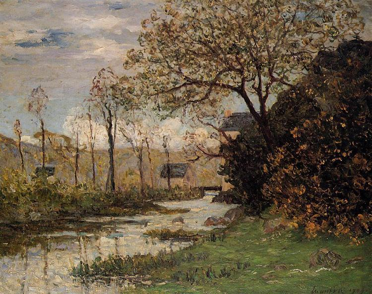 The Auray River, 1909 - Maxime Maufra