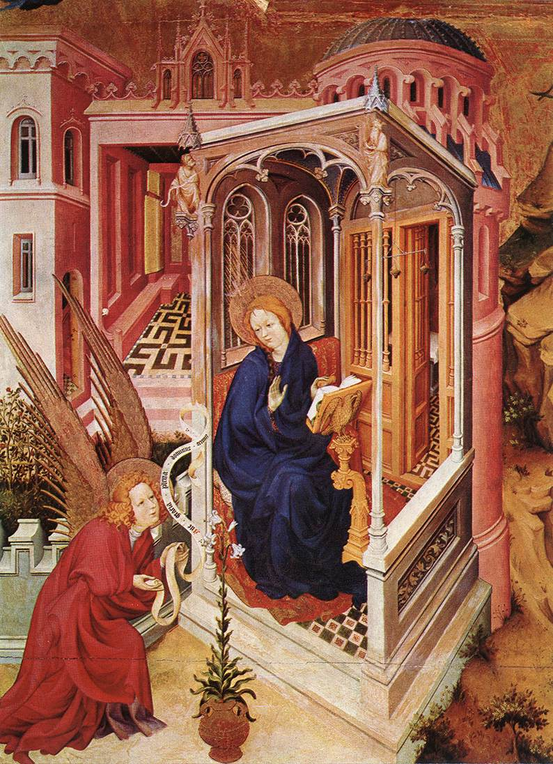 The Annunciation (from Altar of Philip the Bold), 1399