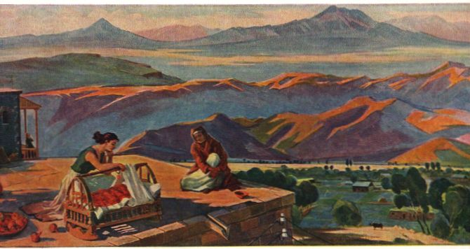 Lullaby, 1909 - Mher Abeghian