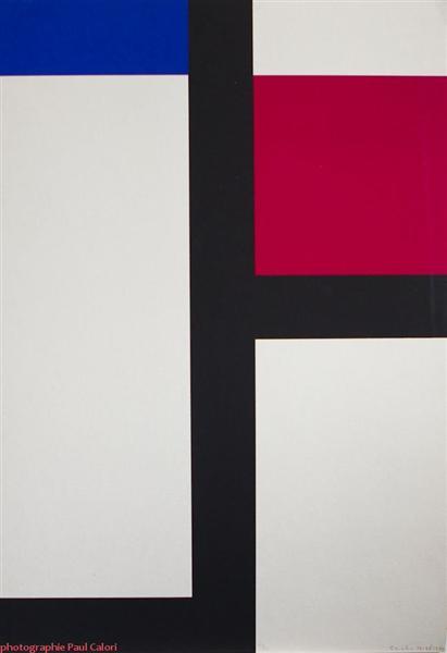 Composition II, 1929 - Michel Seuphor