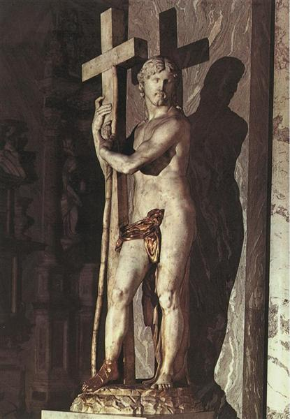 Christ Carrying the Cross - Michelangelo