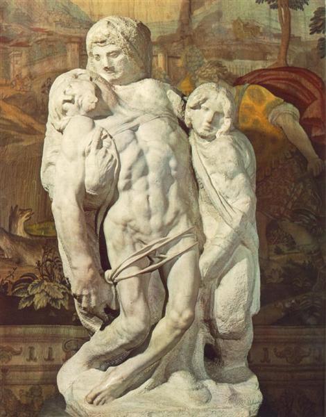 Palestrina Pieta, 1550 - Michelangelo