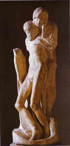 Pieta Rondanini (unfinished) - Michelangelo