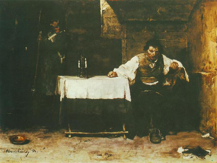 The Last Day of a Condemned Man, 1872 - Mihaly Munkacsy