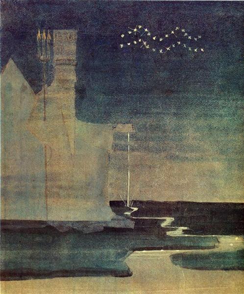 Aquarius, 1907 - Mikalojus Konstantinas Ciurlionis