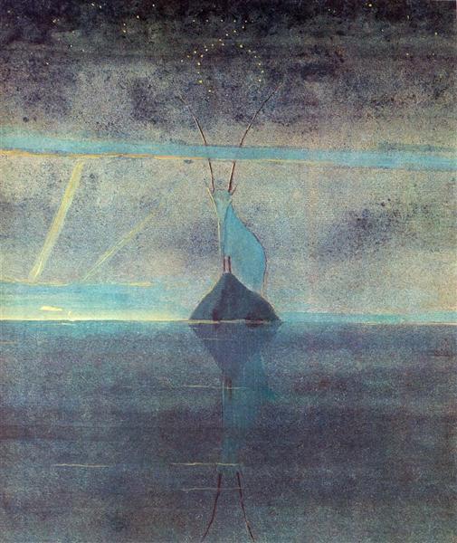 Capricon, 1907 - Mikalojus Konstantinas Ciurlionis