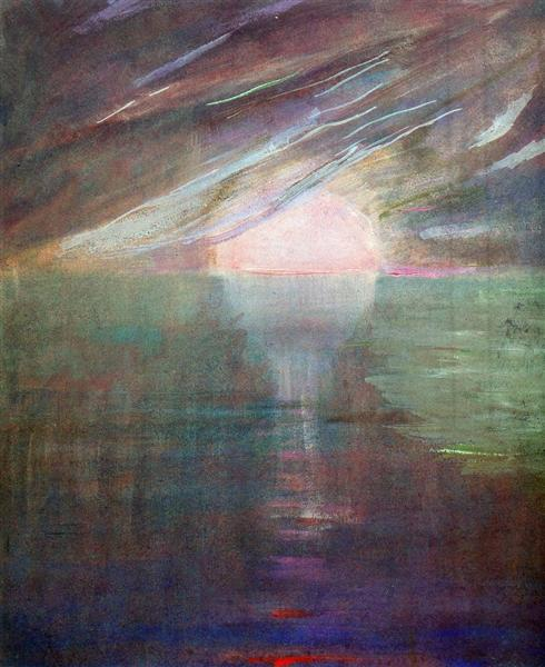 Creation of the World XIII, 1906 - Mikalojus Konstantinas Ciurlionis