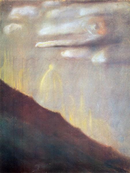 Deluge (VIII), 1904 - Mikalojus Konstantinas Ciurlionis