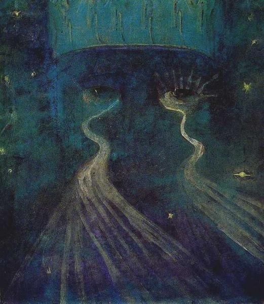 Eternity, 1906 - Mikalojus Konstantinas Ciurlionis