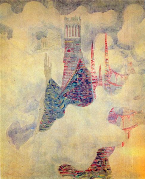 Finale (Sonata of the Sumer), 1908 - Mikalojus Konstantinas Ciurlionis