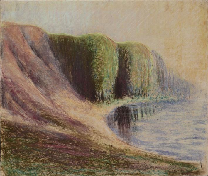 Seashore, 1905 - Mikalojus Konstantinas Ciurlionis