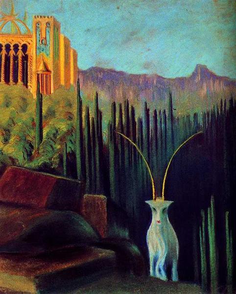 The goat, 1904 - Mikalojus Konstantinas Ciurlionis