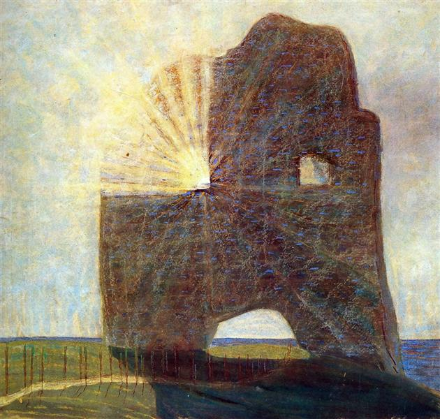 The past, 1907 - Mikalojus Konstantinas Ciurlionis