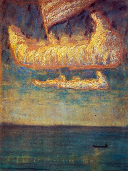 Thoughts, 1907 - Mikalojus Konstantinas Čiurlionis