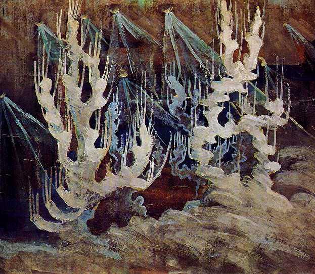 Winter (II), 1907 - Mikalojus Konstantinas Ciurlionis