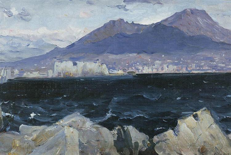 Adriatic Sea, 1893 - Mikhail Nesterov