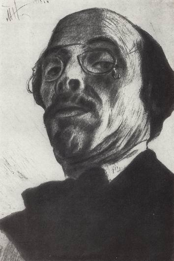 Self-Portrait, 1918 - Mikhail Nesterov