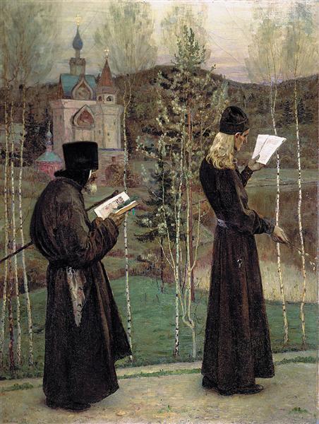 To Blagovest, 1895 - Mikhail Nesterov