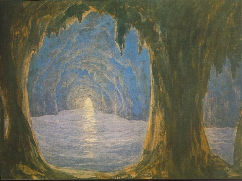 The Blue Grotto, 1835 - Miklós Barabás